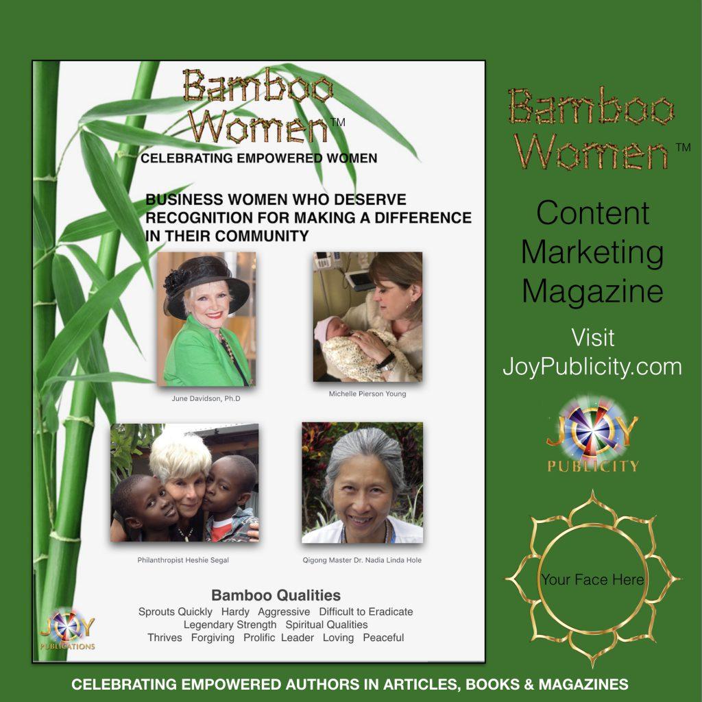 BAMBOO WOMEN MAGAZINE COVER